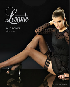 Levante micronet stay up stockings | Ginger Candy