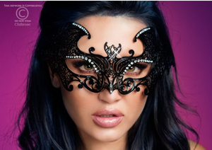 Chilirose bat mask from Ginger Candy lingerie