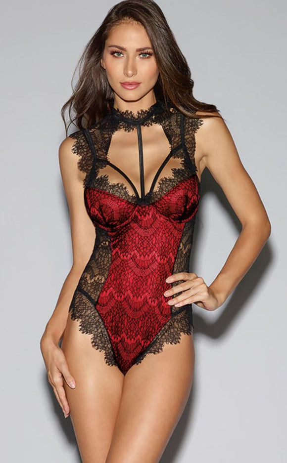 Dreamgirl teddy from Ginger Candy lingerie