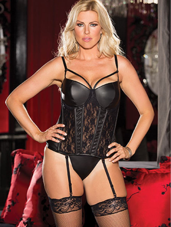 Shirley of Hollywood corset from Ginger Candy lingerie
