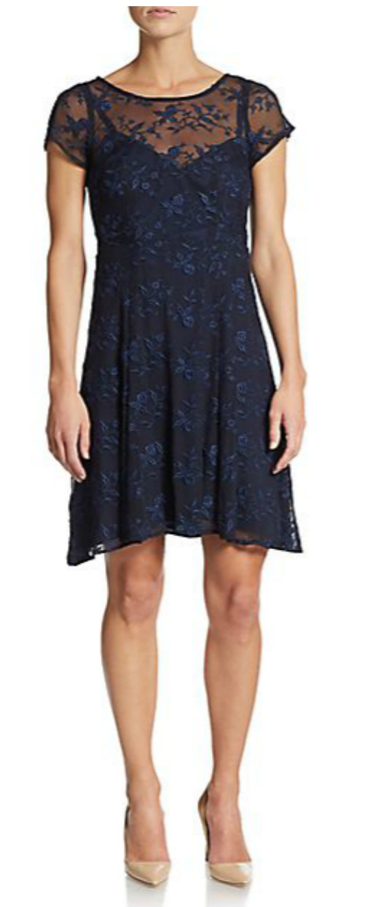 Nanette Lepore fit and flare dress from Ginger Candy