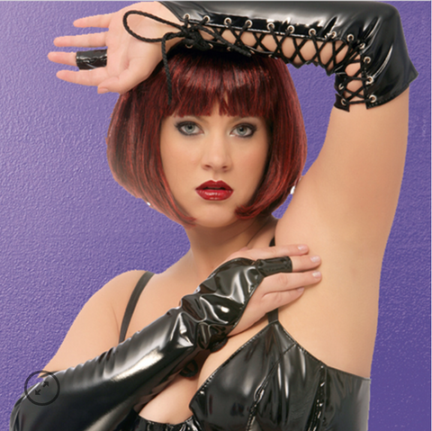 Allure Lingerie laced finger gloves from Ginger Candy