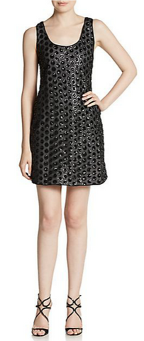 Shoshanna sequined dot A-line dress from Ginger Candy