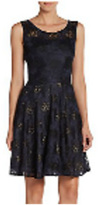 Vera Wang lace fit-and-flare dress from Ginger Candy