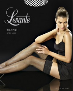 Levante fishnet stay up stockings from Ginger Candy