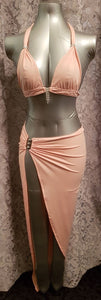 Floodline long skirt and top set from Ginger Candy lingerie