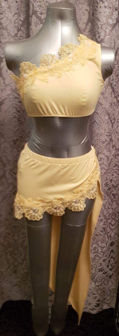 Nom de Plume skirt and top set from Ginger Candy lingerie