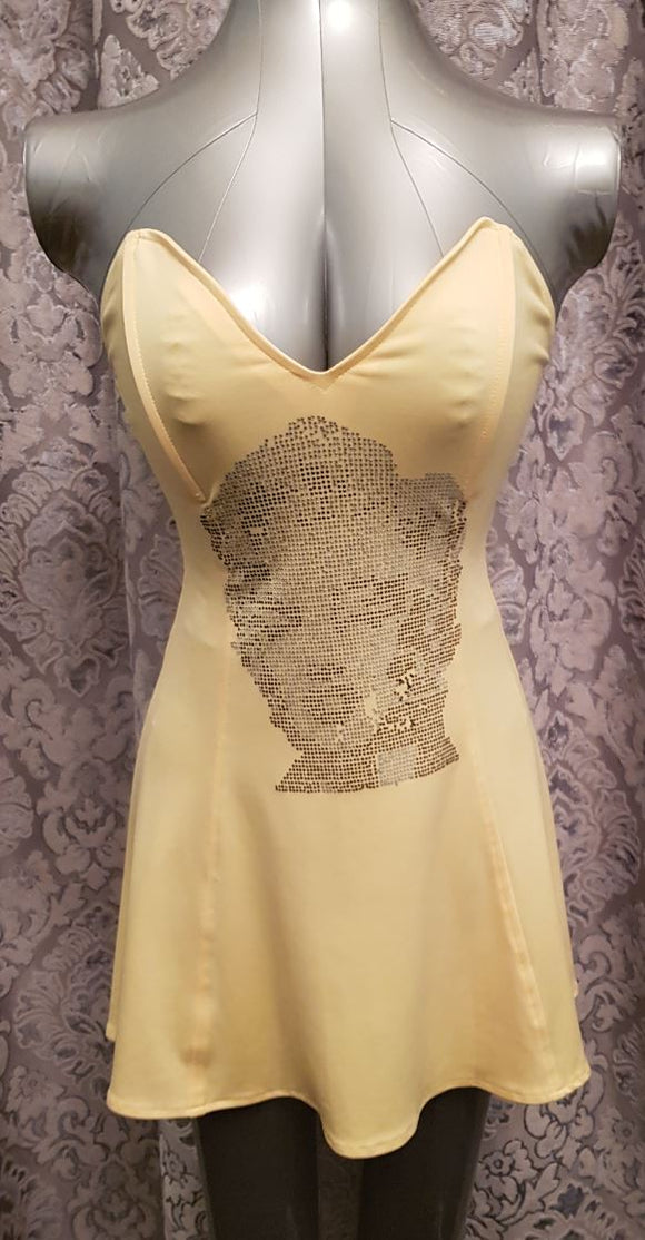 Nom de Plume Marilyn Monroe dress from Ginger Candy lingerie