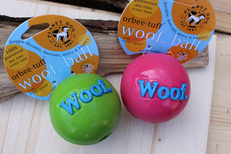 Planet Dog Orbee-Tuff Woof Ball