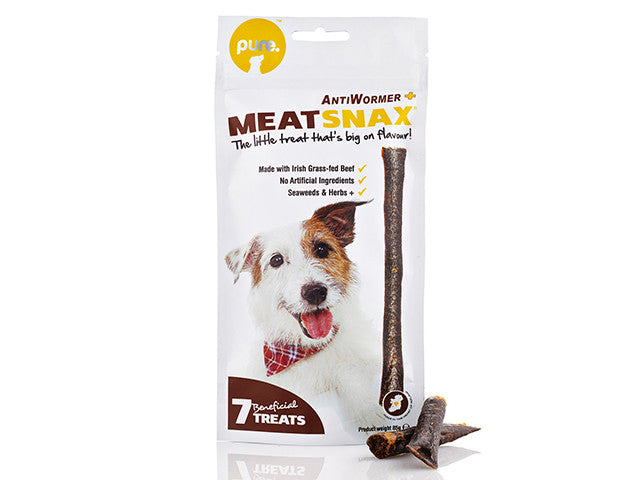 Pure Meatsnax I AntiWormer I 7 sticks