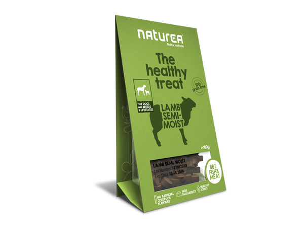 Bløde godbidder I Naturea lam I The healthy treat I 100g