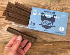 Naturea dental Sticks I 8 stk. XL kylling