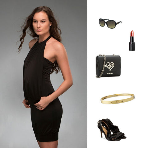 Ruta little black dress
