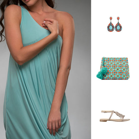 Hoya mint dress