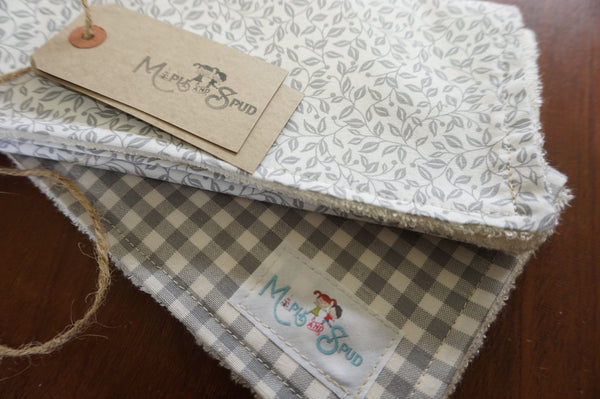 Organic Bamboo Burp Cloth