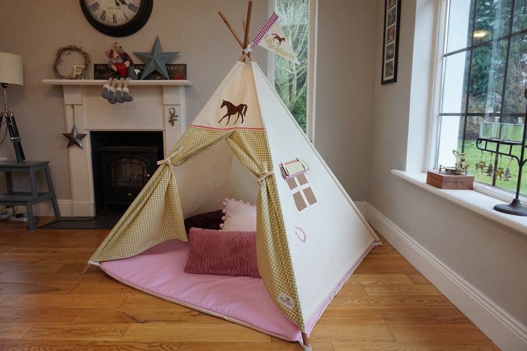 The Pony Teepee by Maple and Spud Designs