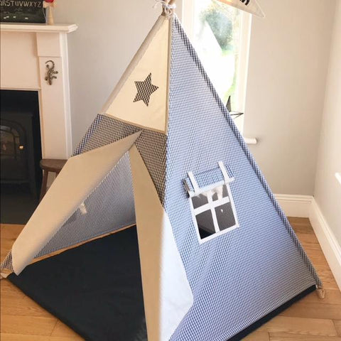 geometric teepee maple and spud