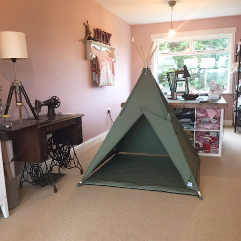 Teepee tent (Army Olive Green)