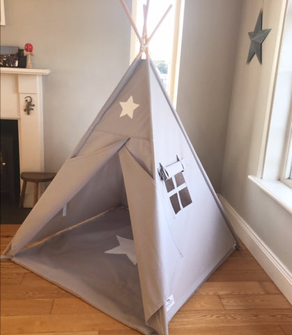 They Grey Star Teepee