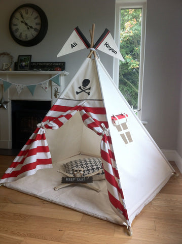 The Jolly Roger Teepee - Made in Ireland
