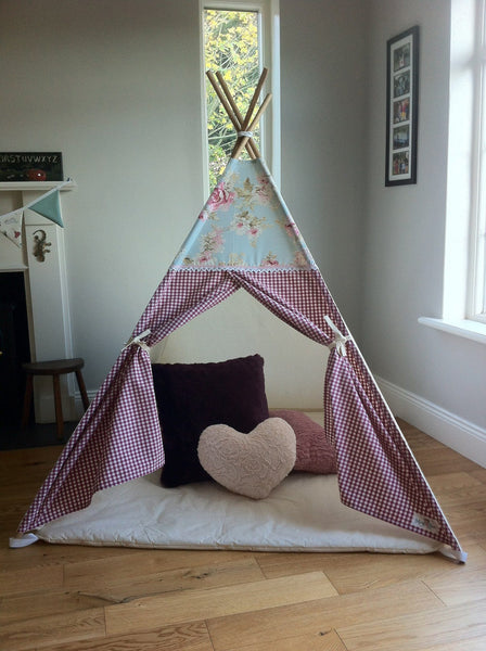 The Floral Topper Teepee