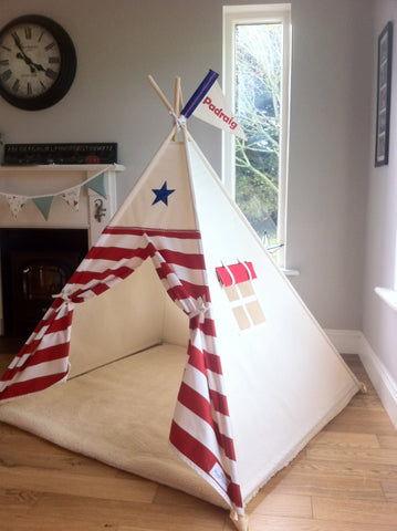 The Star and Stripe Teepee