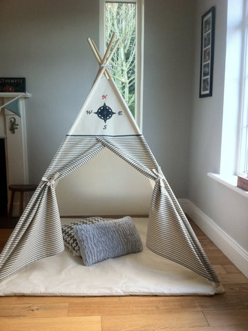 The Compass and Stripe Teepee