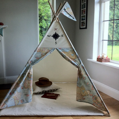 Compass and Map teepee