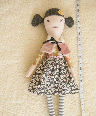 Betty. One of a Kind Heirloom Doll. Handmade in Ireland