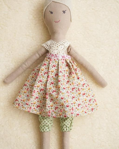Clara. One of a Kind Heirloom Doll. Handmade in Ireland