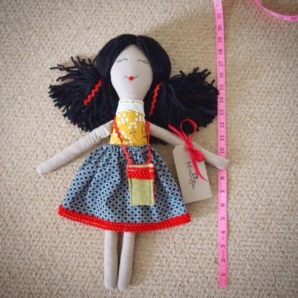 large rag doll