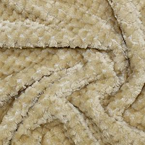 Tan fleece fabric