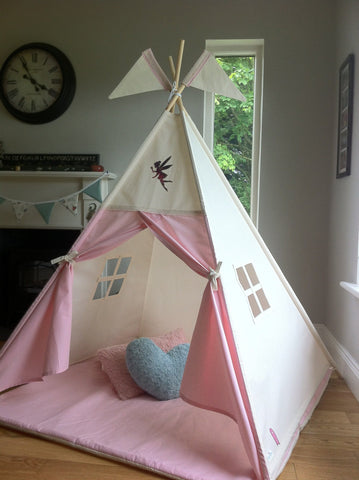 Fairy Teepee with pink doors