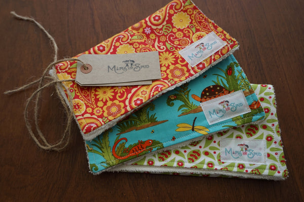 bamboo burp cloth
