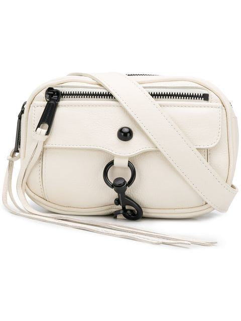 Rebecca Minkoff White Leather Blythe Belt Bag