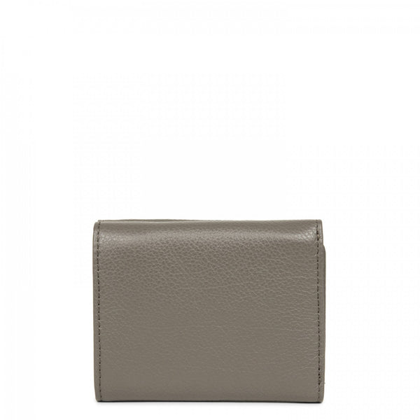 Lancaster Paris grey leather mini wallet