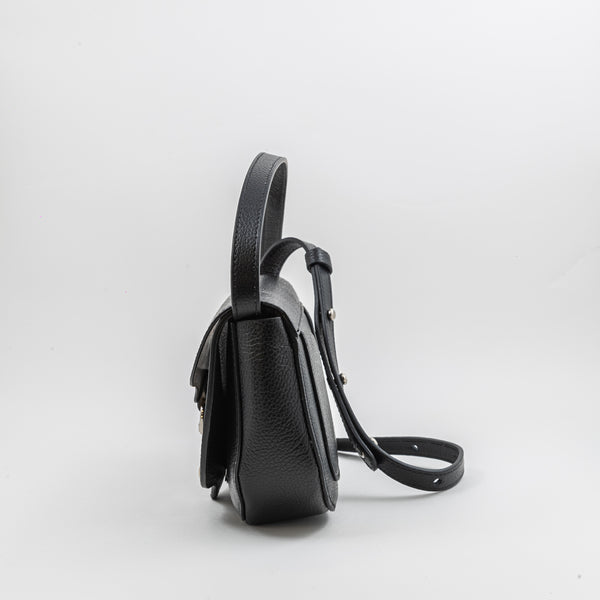 Rebecca Minkoff Pebble black leather crossbodybag