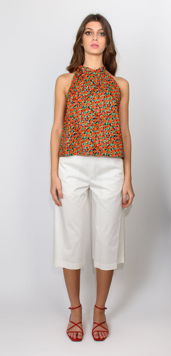 L'AUTRE CHOSE PRINTED TOP
