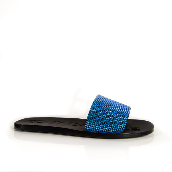 EDDY DANIELE ROXY BLUE SLIPPER