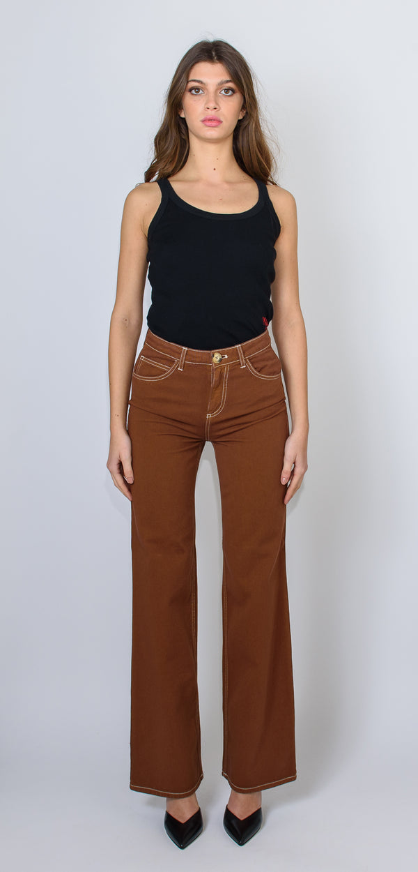 L'AUTRE CHOSE TOBACCO TROUSERS