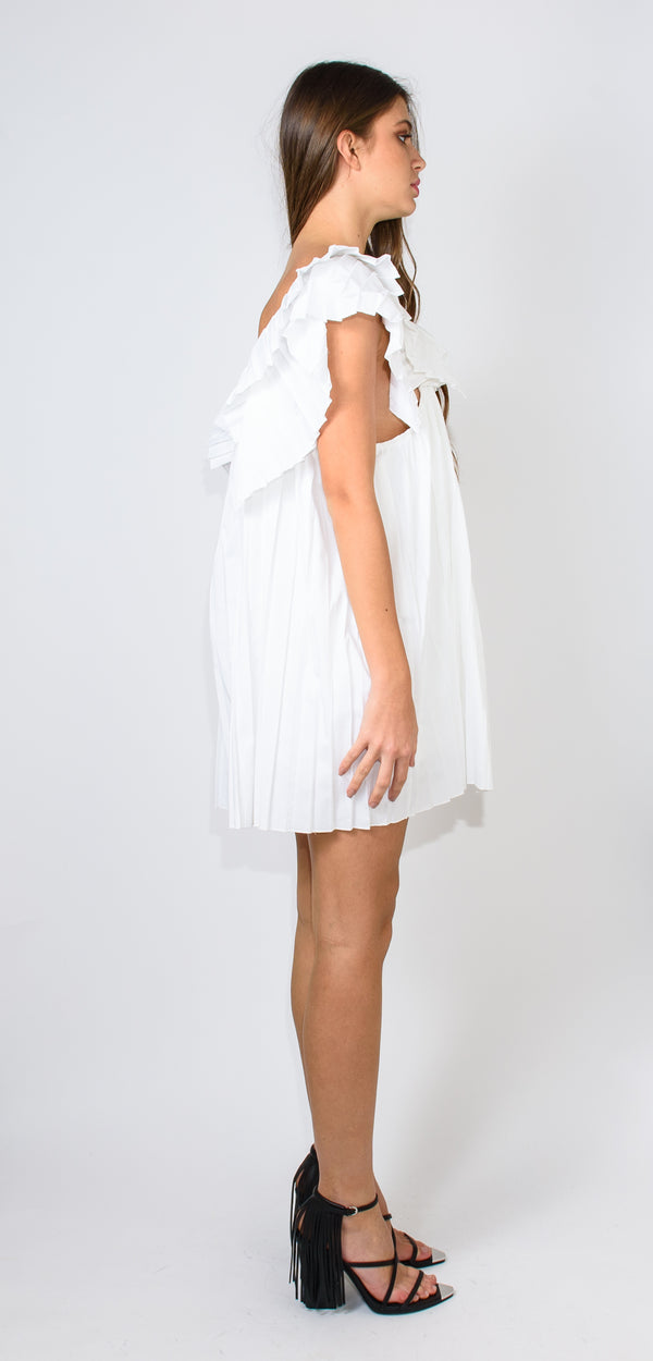ODÌ ODÌ WHITE MANUELA DRESS