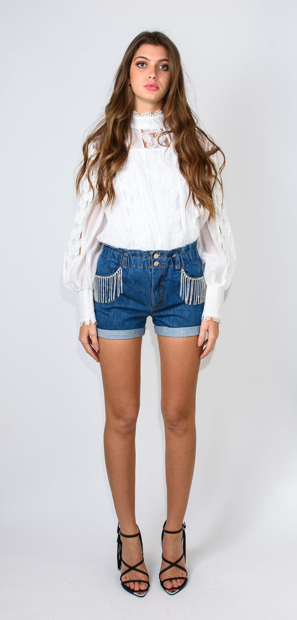 ODÌ ODÌ LUH DENIM SHORTS