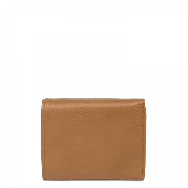 Lancaster Paris brown leather mini wallet