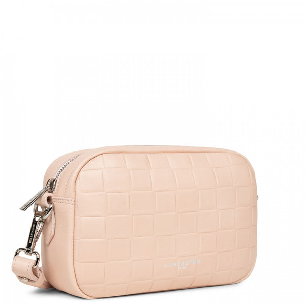 Lancaster Paris Powder crossbody bag with closure with zip