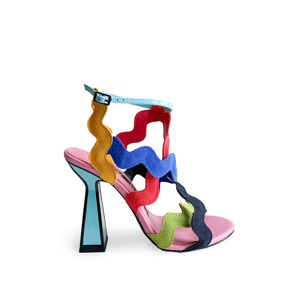 KAT MACONIE JIHAN MULTI COLOURED SANDAL