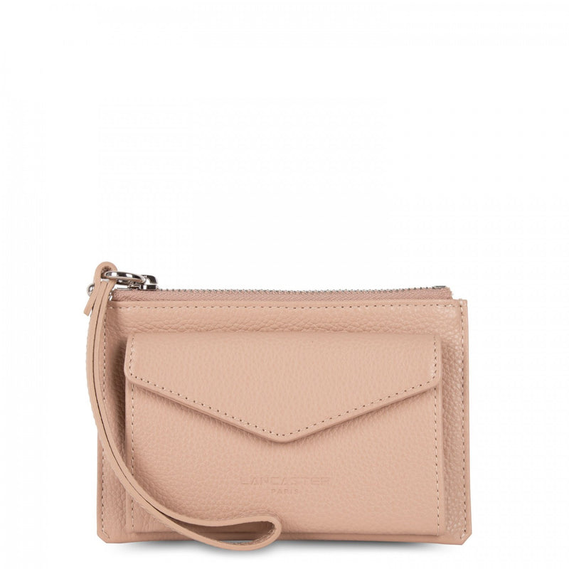LANCASTER PARIS SMALL NUDE CLUTCH