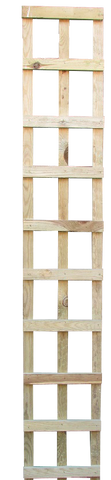 6ft x 1' square trellis panels pack of 2