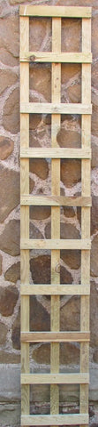6ft x 1' square trellis panels pack of 3