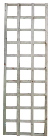 "6ft x 18"" square trellis panels pack of 2"