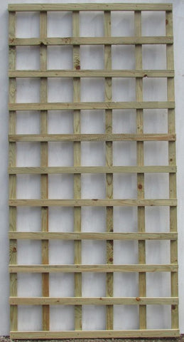 6ft x 3ft Garden Trellis - pack of 2